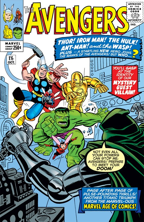 Avengers Vol. 1 #1 – 402 (1963-1996)