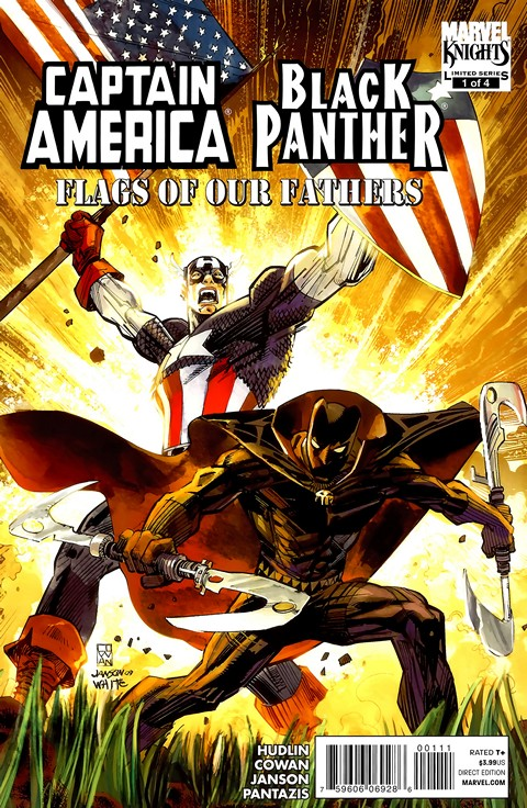Black Panther-Captain America – Flags of Our Fathers #1 – 4