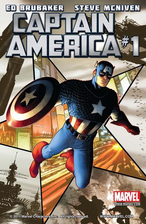 Captain America Vol. 6 #1 – 19 (2011-2012)