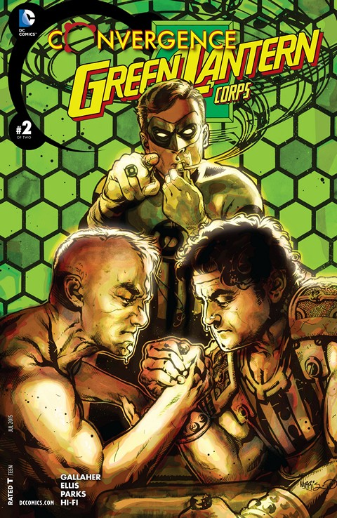 Convergence – Green Lantern Corps #2