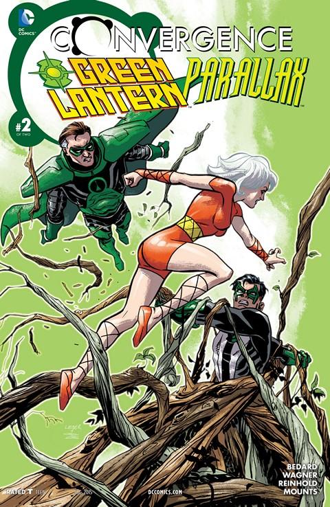 Convergence – Green Lantern-Parallax #2
