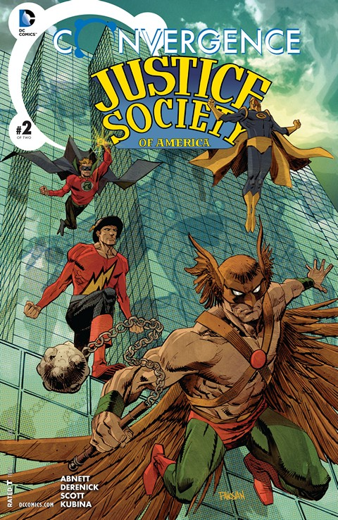 Convergence – Justice Society of America #2