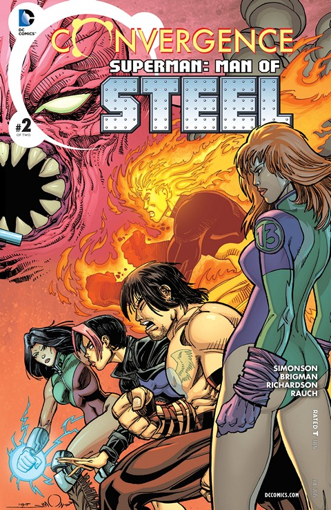 Convergence – Superman – Man of Steel #2