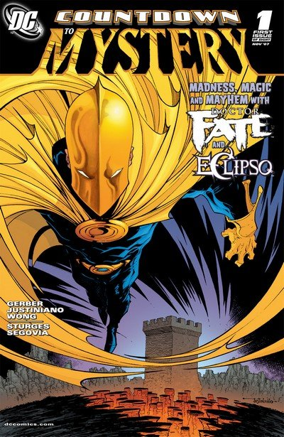 Dr. Fate – Countdown to Mystery #1 – 8 (2007-2008)