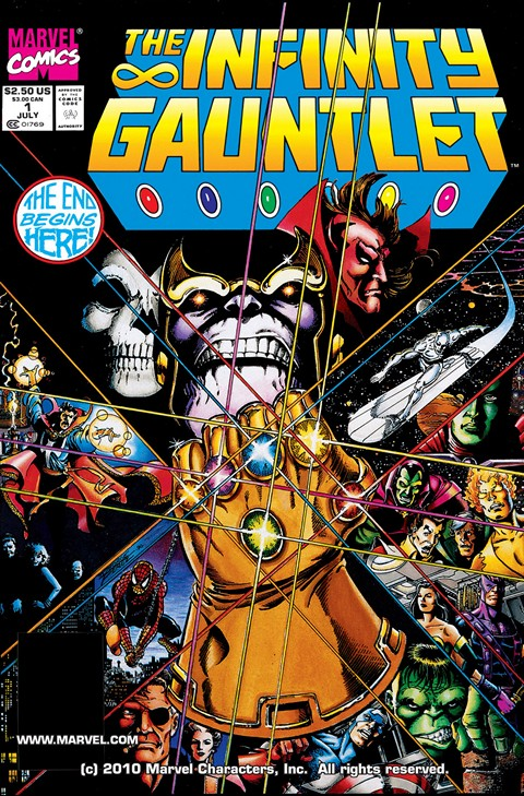 Infinity Gauntlet (Story Arc + Omnibus) (1991)