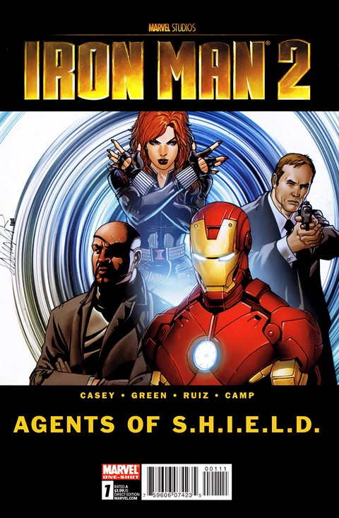 Iron Man 2 – Agents Of S.H.I.E.L.D. #1