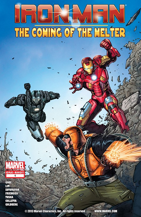 Iron Man – The Coming of the Melter #1