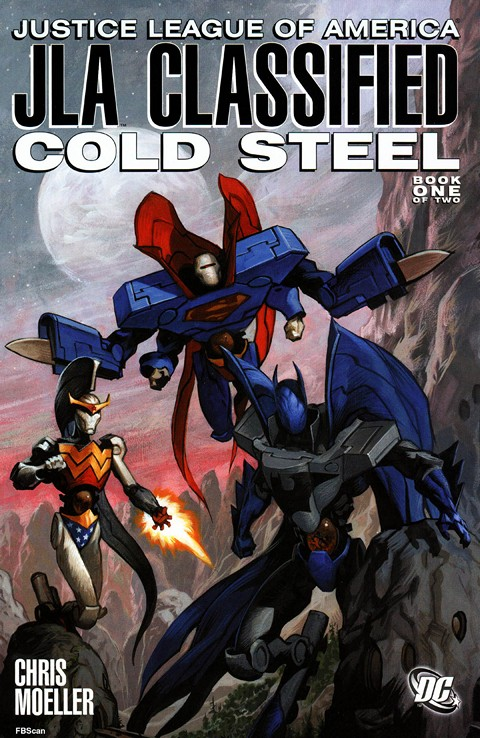 JLA Classified – Cold Steel #1 – 2