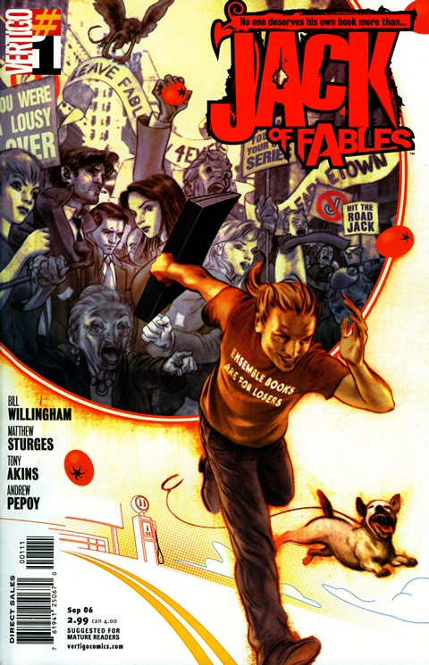 Jack of Fables #1 – 50