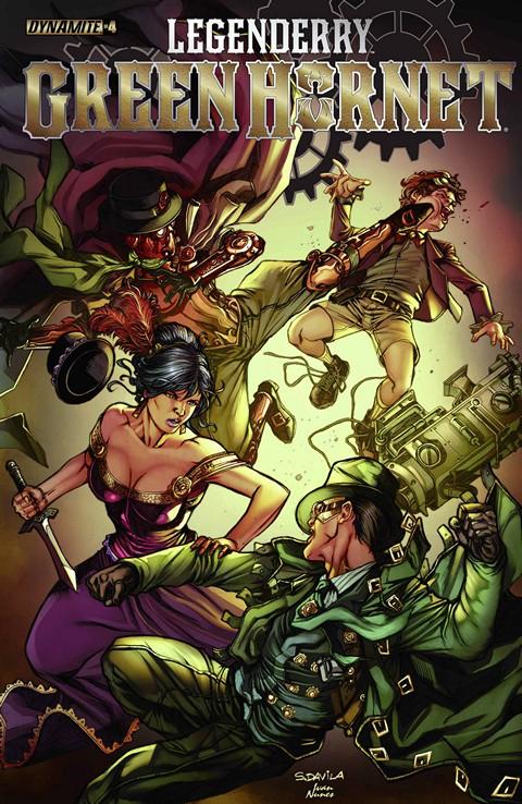 Legenderry Green Hornet #3 – 4