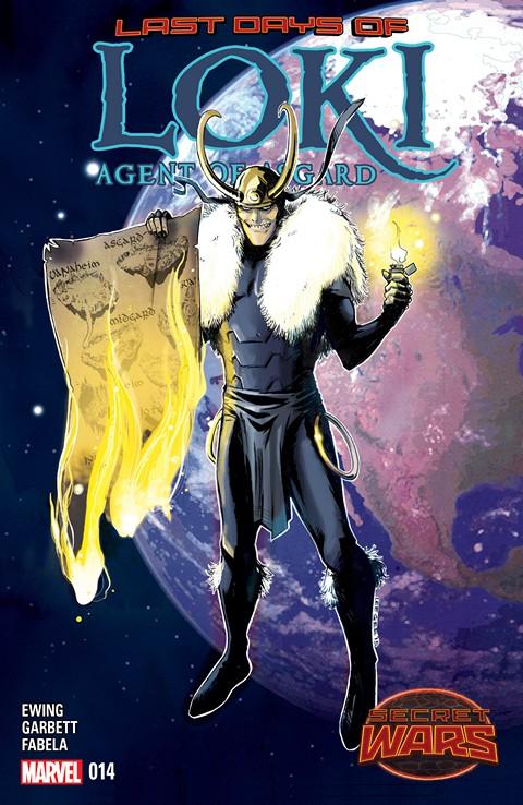 Loki – Agent of Asgard #14