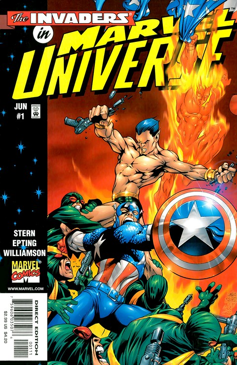 Marvel Universe Vol. 1 #1 – 7