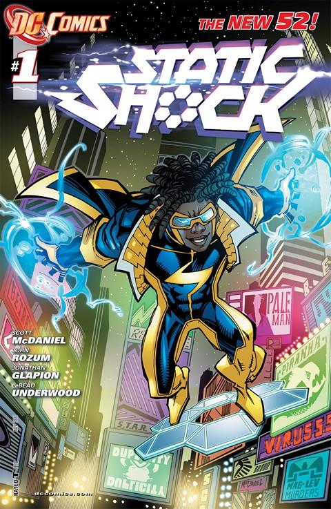 Static Shock #1 – 8