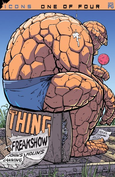 The Thing – Freakshow #1 – 4 (2002)
