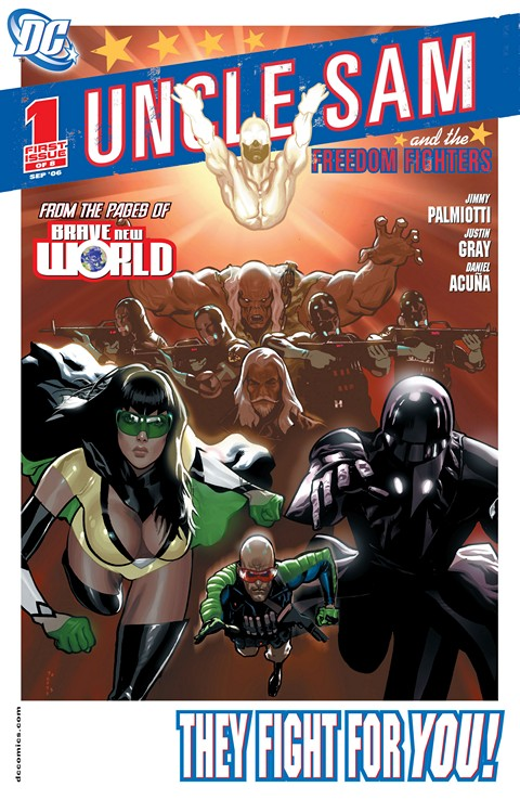 Uncle Sam and the Freedom Fighters Vol. 1 #1 – 8 (2006-2007)