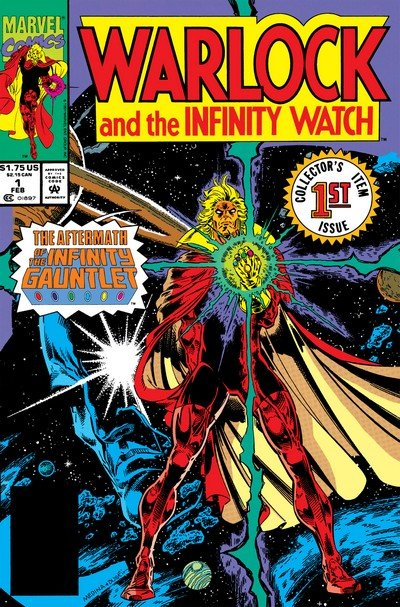 Warlock and the Infinity Watch #1 – 42 + TPB Vol. 1- 2 (1992-1995 + 2016)