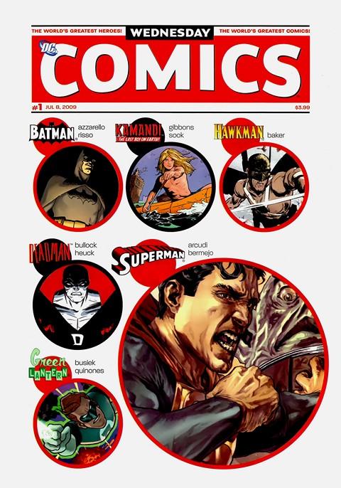 Wednesday Comics #1 – 12 + Extras (2009)