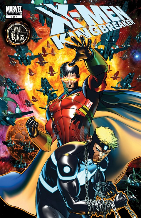 X-Men – Kingbreaker #1 – 4