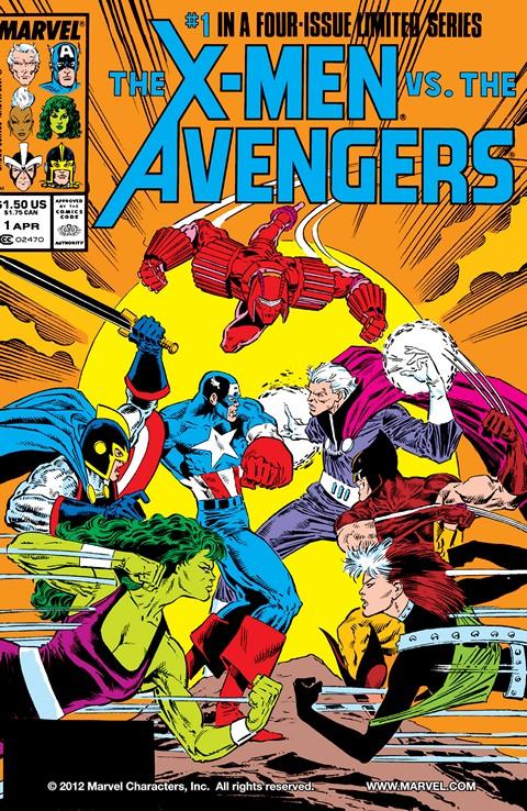 X-Men vs. The Avengers #1 – 4