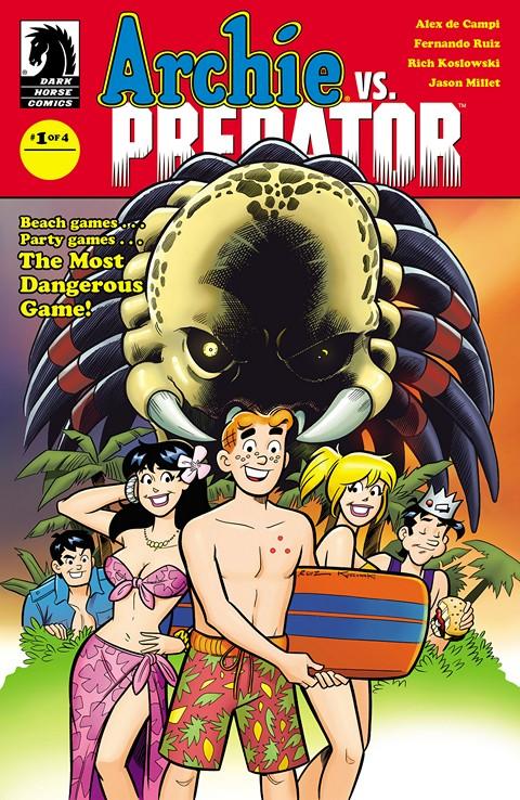 Archie vs. Predator #1 – 2