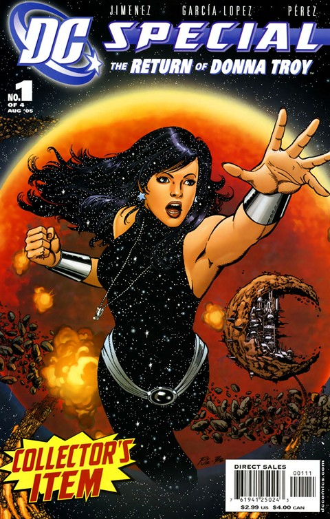 DC Special – The Return of Donna Troy #1 – 4