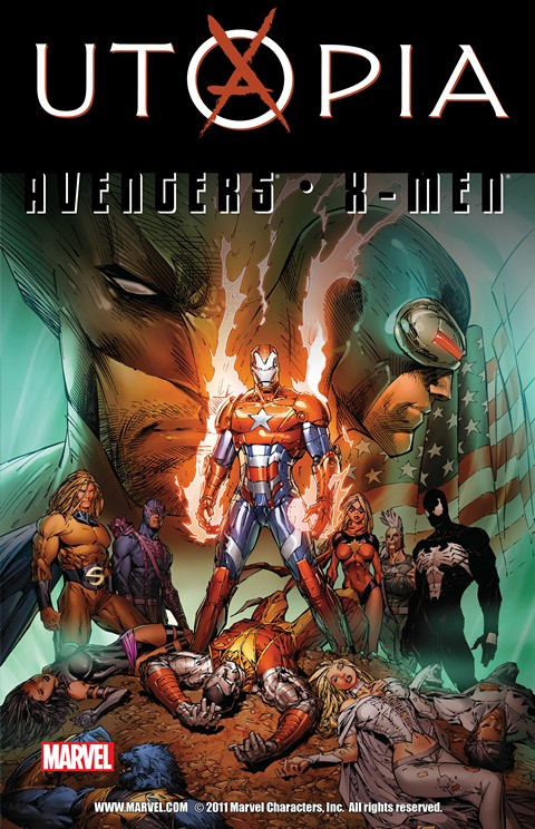Dark Avengers – X-Men – Utopia
