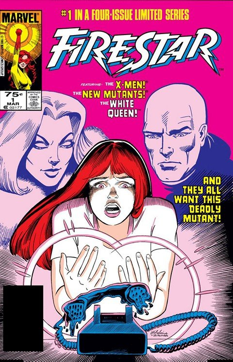 Firestar #1 – 4 + Marvel Divas #1 – 4 + Extras