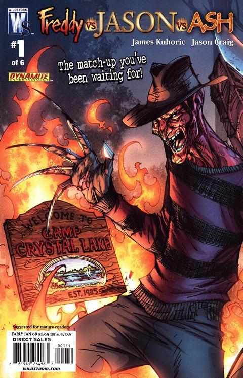 Freddy Vs Jason Vs Ash #1 – 6