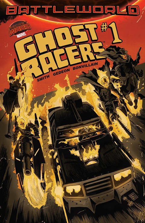 Ghost Racers #1