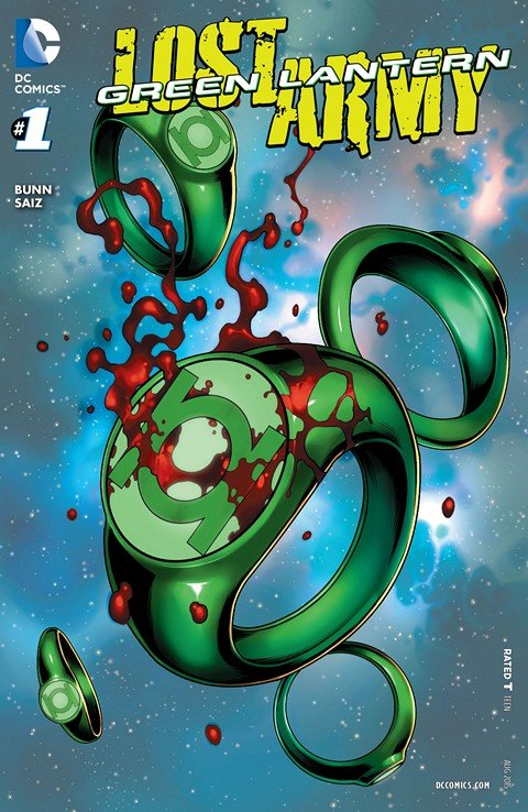 Green Lantern The Lost Army #1