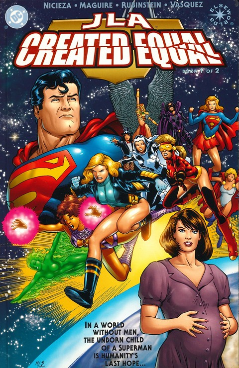 JLA – Created Equal #1 – 2 + Elseworld