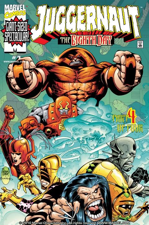 Juggernaut: The Eighth Day #1