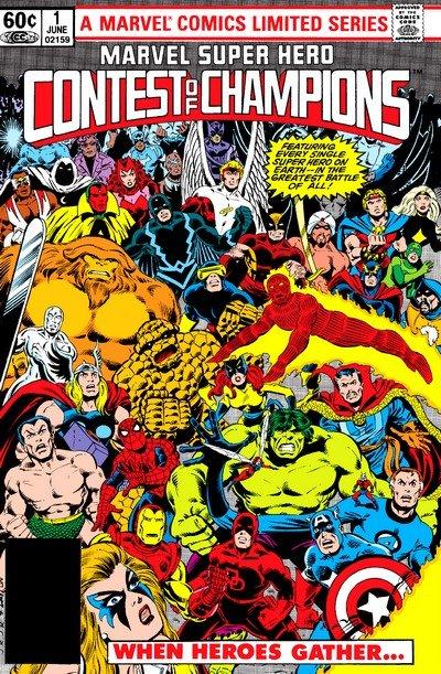 Marvel Super Hero Contest of Champions #1 – 3 (1982)