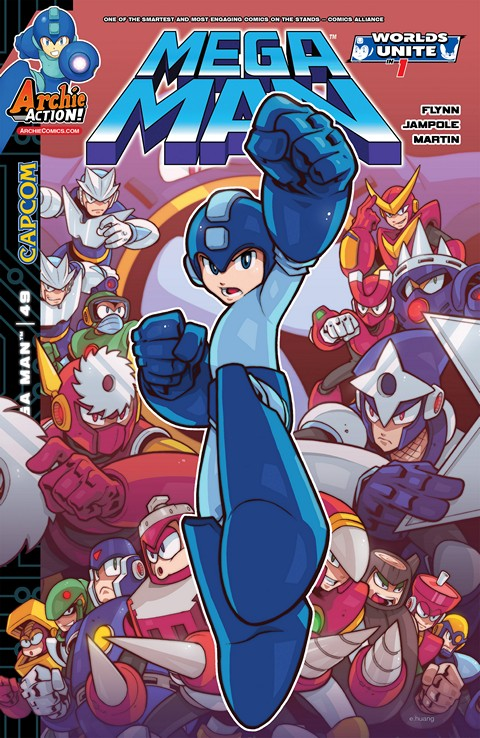 Mega Man #1 – 55 (2011-2016)