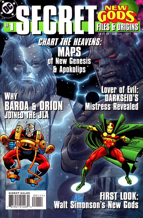 New Gods Secret Files