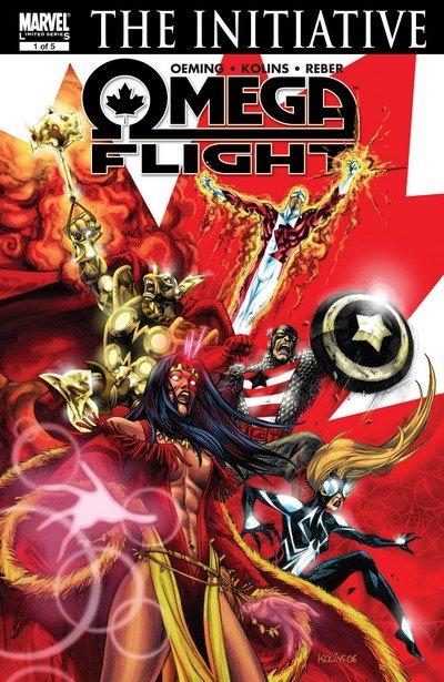 Omega Flight #1 – 5 (2007)
