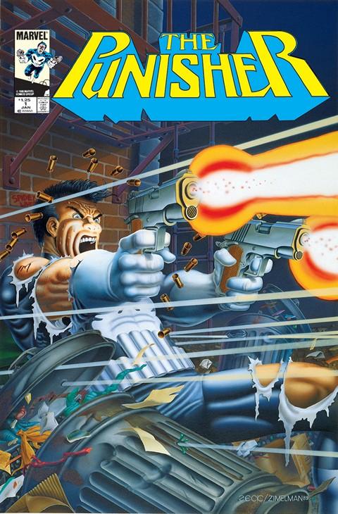 Punisher Vol. 1 Mini-Series #1 – 5
