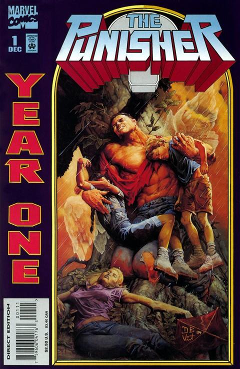 Punisher – Year One #1 – 4