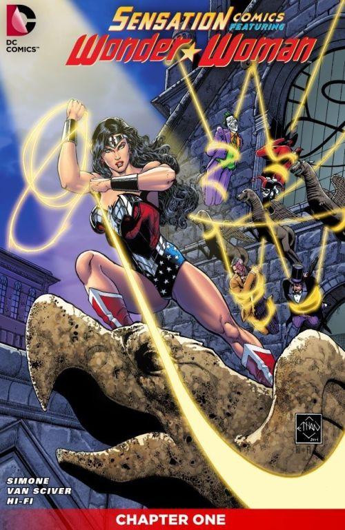 Sensation Comics Featuring Wonder Woman #1 – 51 (2014-2015)