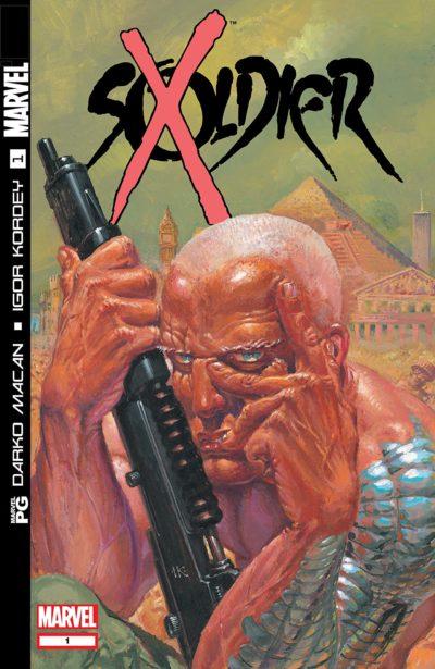 Soldier X #1 – 12 (2002-2003)