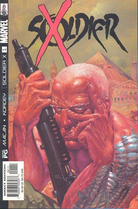 Soldier X #1 – 12