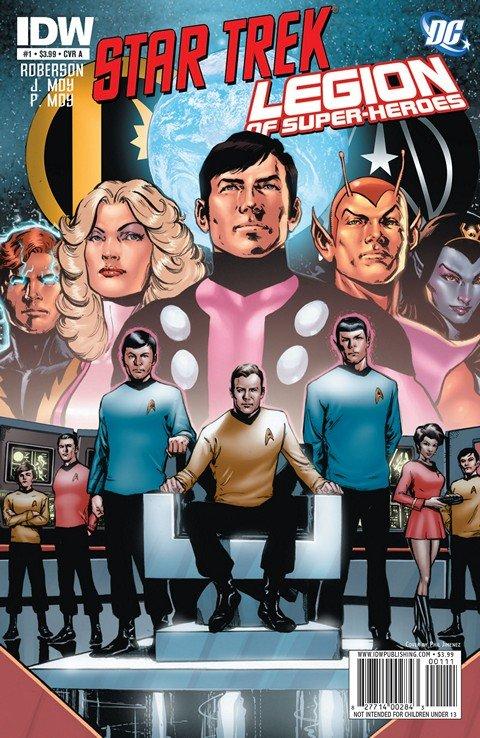 Star Trek-Legion Of Super-Heroes #1 – 6 (2011-2012)
