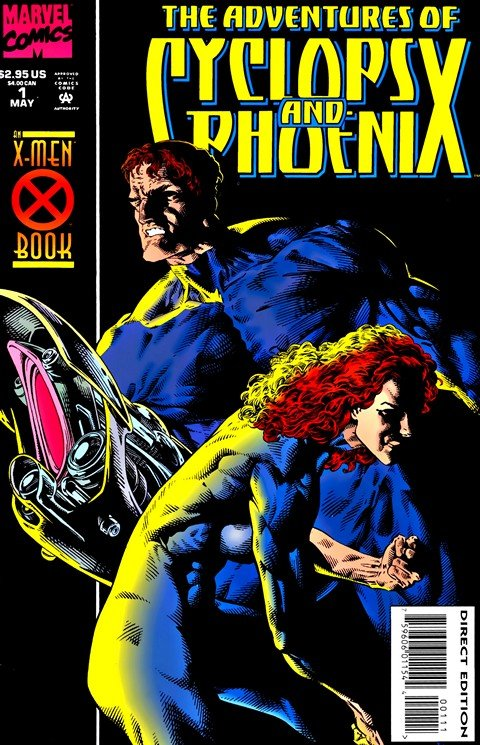 The Adventures of Cyclops & Phoenix #1 – 4