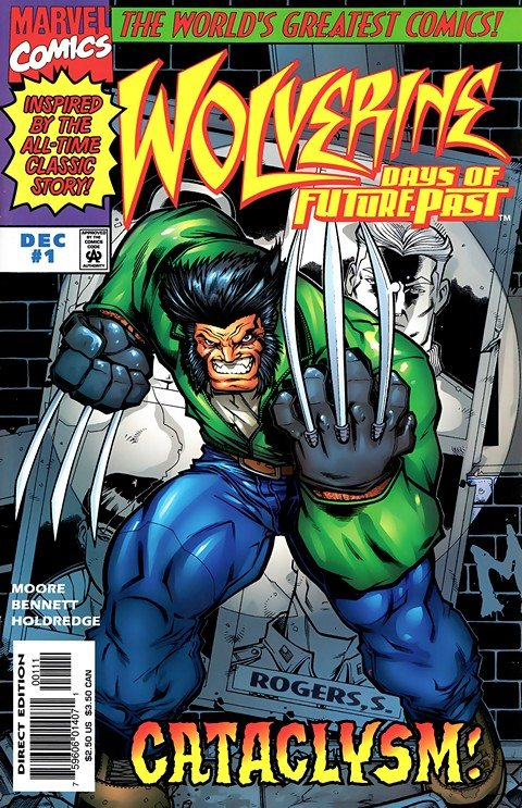 Wolverine – Days of Future Past #1 – 3
