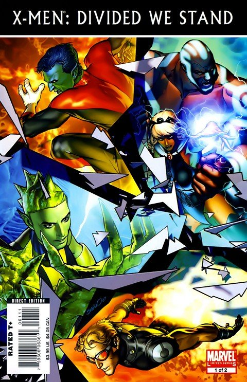 X-Men Divided We Stand (Story Arc) (2008)