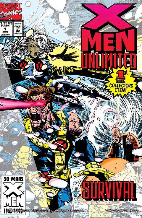 X-Men Unlimited Vol. 1 (#1 – 50) + Vol. 2 (#1 – 14) (1993-2006)