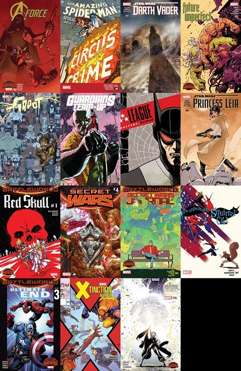 2015.07.01 Marvel Week+