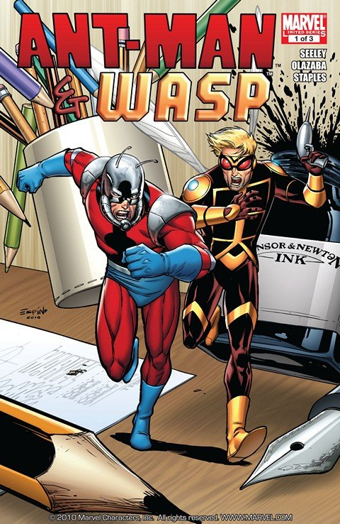 Ant-Man & Wasp #1 – 3