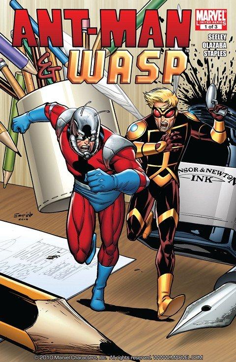 Ant-Man & Wasp #1 – 3