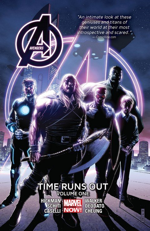 Avengers – Time Runs Out Vol. 1 – 4 (TPB)